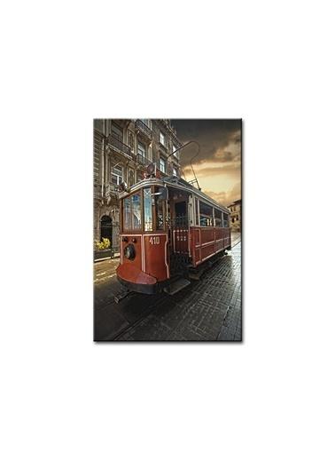 Arte Casero İstanbul Kanvas Tablo 60x90 cm  Renkli